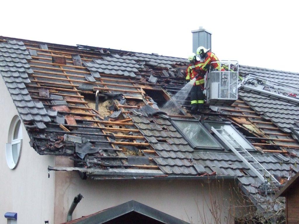 Wohnhausbrand am Kirlesberg - 2016