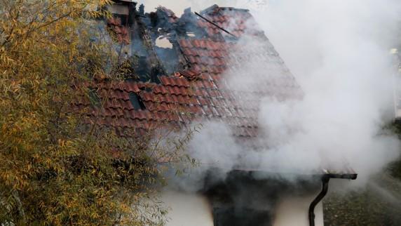 57-Jähriger stirbt nach Brand in Wohnhaus