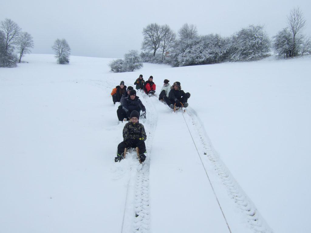 Schlittenfahrt 2018