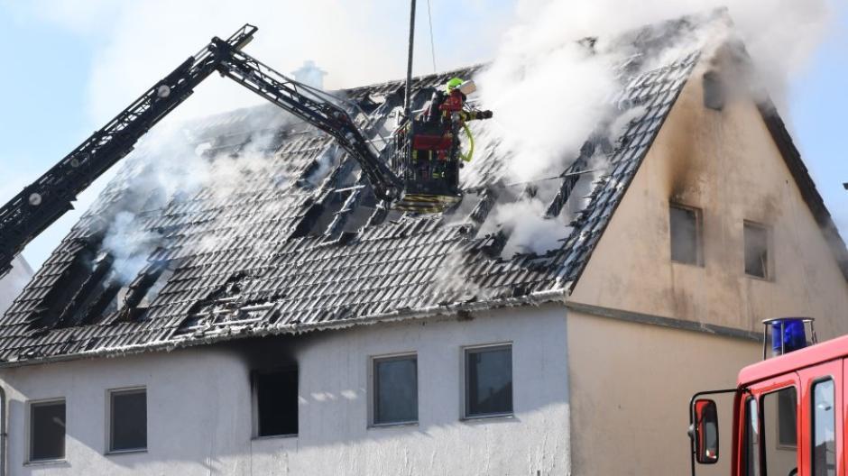 Brand in Burgau