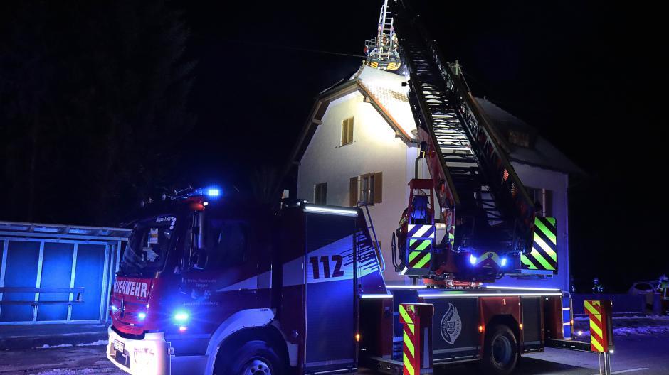 Brand Dachstuhl Röfingen